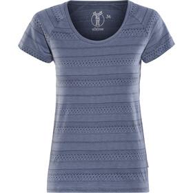 Elkline Marbella - Camiseta manga corta Mujer - azul